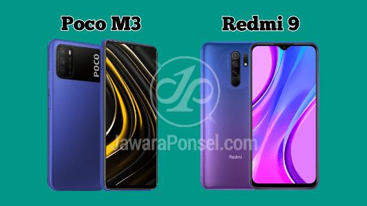 Perbandingan Redmi 9 Vs Poco M3