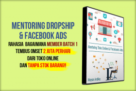 Mentoring Dropship & Facebook Ads