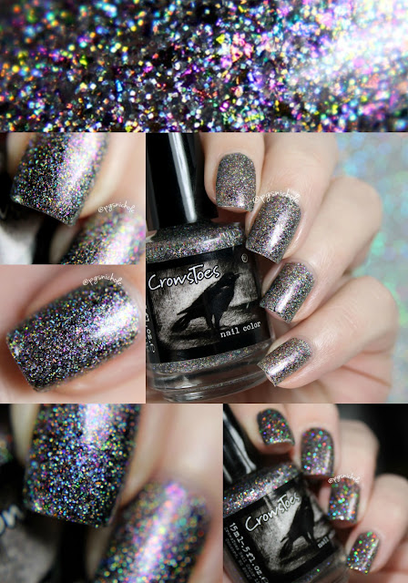 CrowsToes Nail Color Abracadabra | Hella Holo Customs March 2016