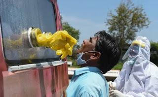 गुजरात में प्रवेश करने वालों के लिए नकारात्मक कोरोनावायरस रिपोर्ट।