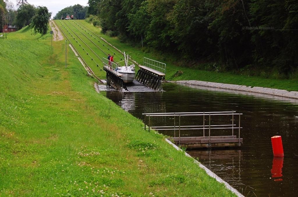 Pochylnia Kąty, Kanał Elbląski