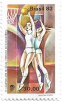 Selo Campeonato Mundial Feminino de Basquetebol
