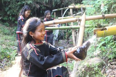 Bến nước buôn Sah, xã Ea Tul, huyện Cư M'gar. Ảnh: L. Anh