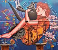 Dickson Street Art | FaithSprays & Bohie