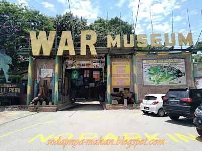 Muzium Perang (war museum) Batu Maung
