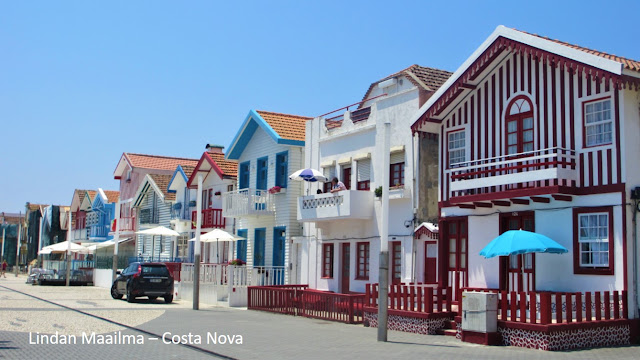 Rantaloma Costa Nova Portugali