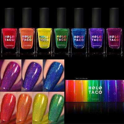 Holo Taco Kolekcja Tęczowa