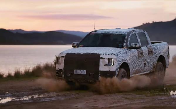 Nova Ford Ranger 2023 (nova geração): fotos e 1º vídeo oficial divulgados