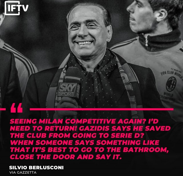Silvio Berlusconi - IGitalianfootballtv