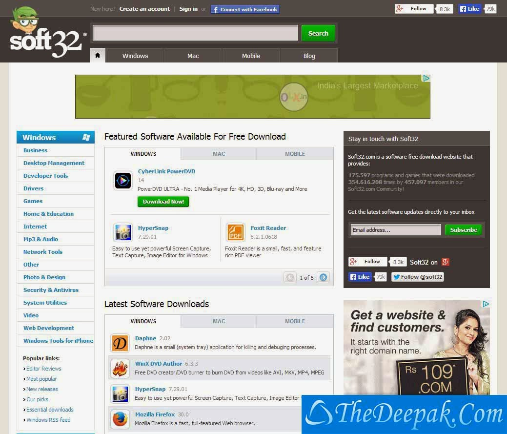 SOFT32.COM Full Version Software Downloads