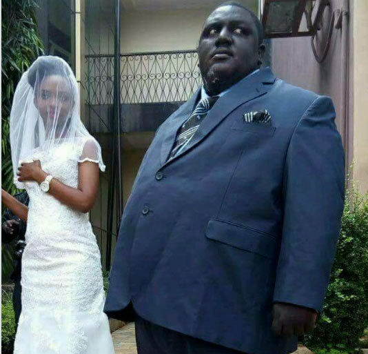 Man and his bride throw internet into frenzy after their wedding photos went viral