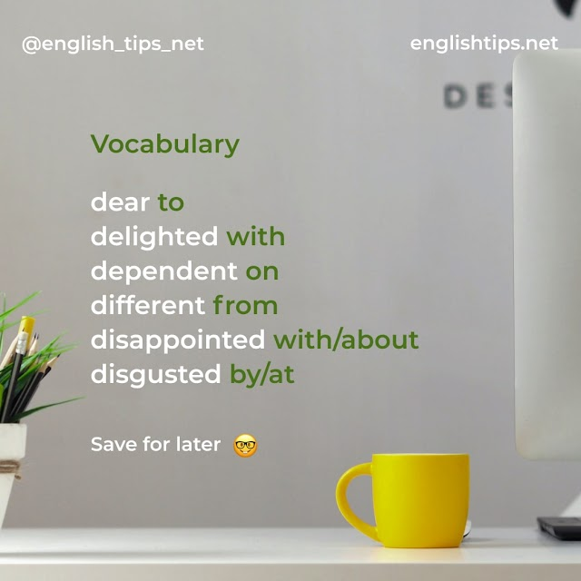 Useful Vocabulary, Learn and Read