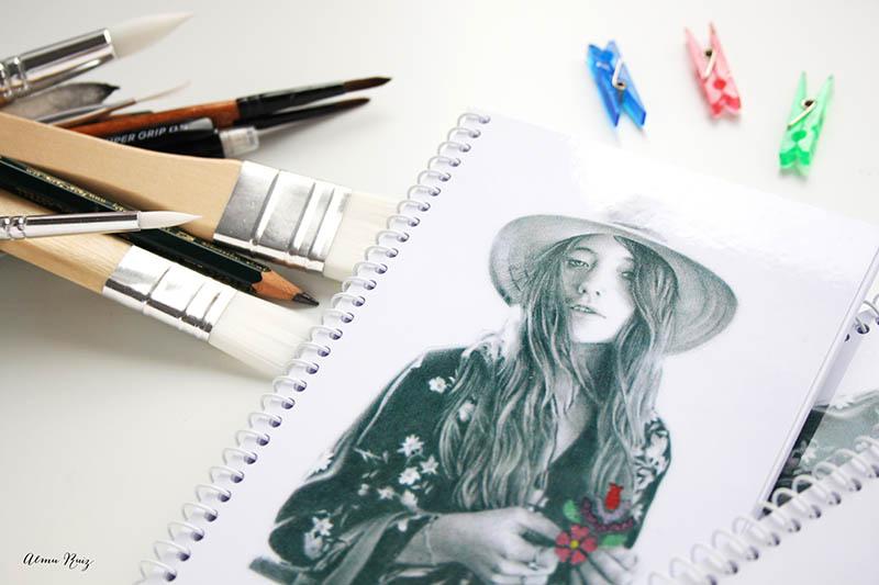 Cuaderno ideal para dibujar y escribir
