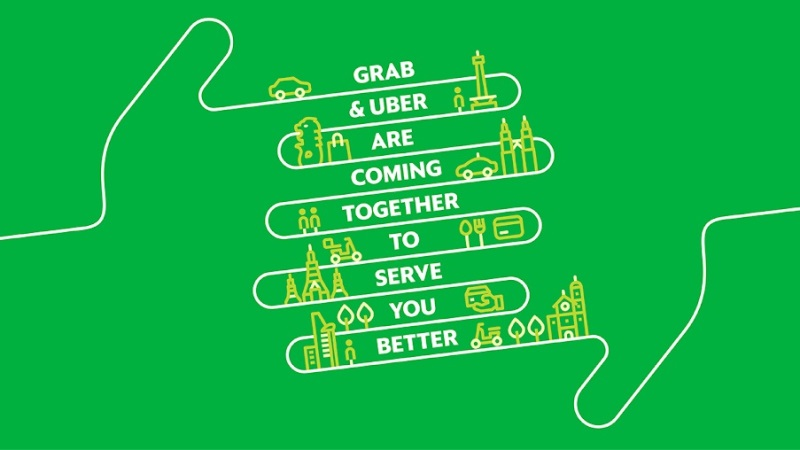 Grab Acquires Uber's Southeast Asia Ride-Hailing Business