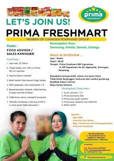 Loker Semarang Mei 2020 - Lowongan kerja prima freshmart semarang terbaru 2020