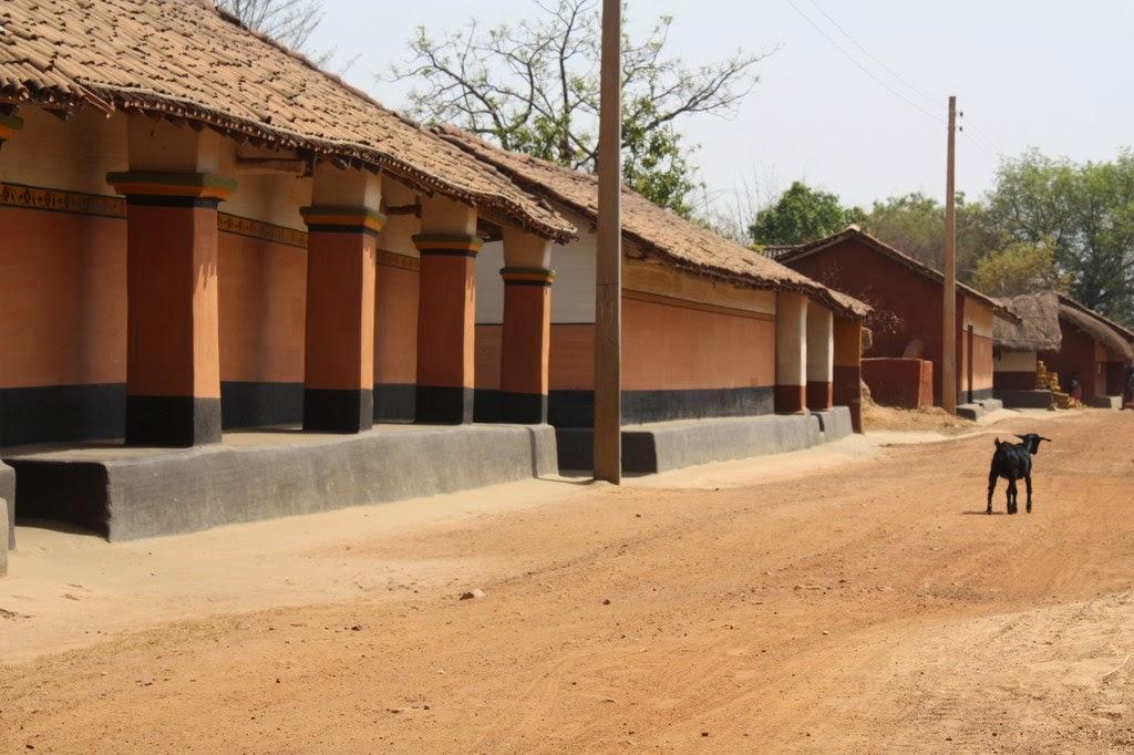 Santal village