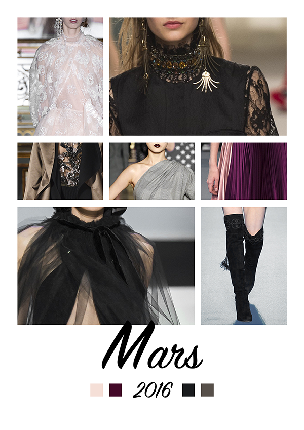 clémence m moodboard mars fashion weeks automne 2016 blogueuse mode