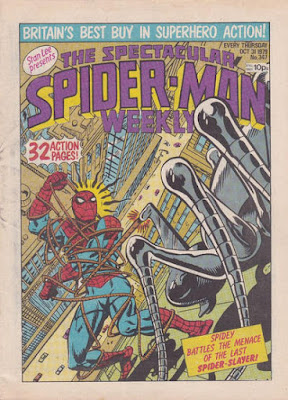 Spectacular Spider-Man Weekly #347, the Spider-Slayer