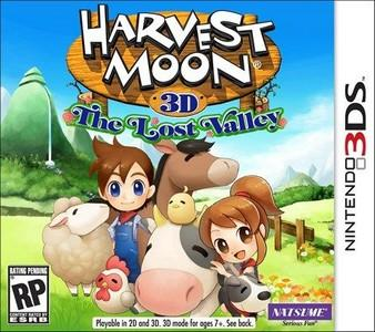 Rom Harvest Moon The Lost Valley 3DS