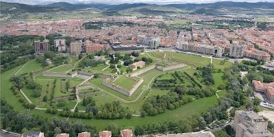 Ciudadela y murallas de Pamplona