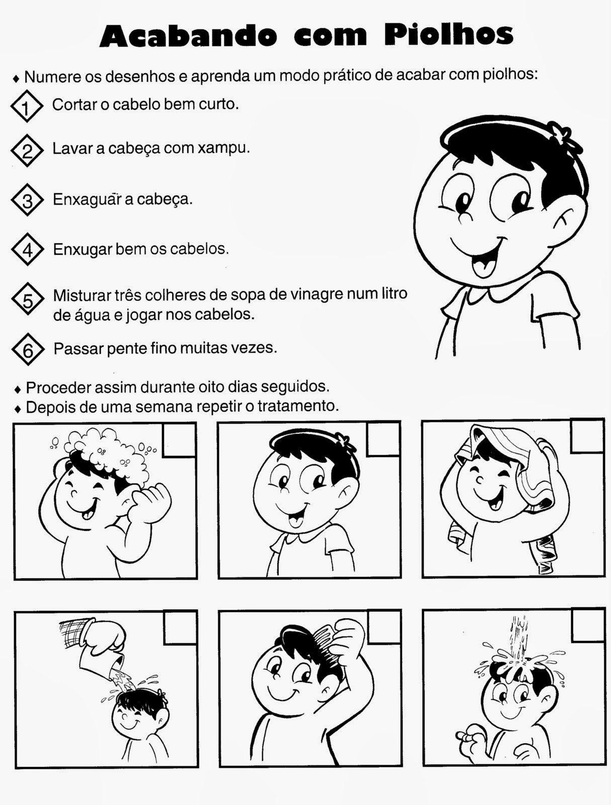 Educar X Atividades Sobre Higiene E Saude