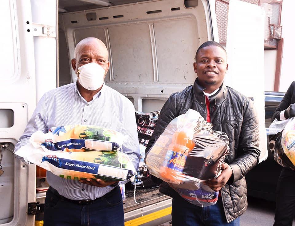Prophet Shepherd Bushiri Who Was Attacked For Demanding Money From Congregants Donates Food Parcels