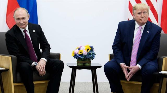 Putin y Trump se reúnen en el marco de la cumbre G20 en Osaka