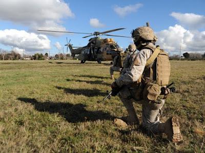 """Ejército de Chile realizó  un ejercicio militar denominado """"Leftraru2017"""""""