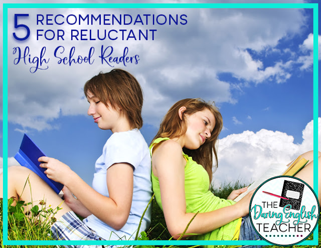 5 Book Recommendations for Reluctant High School Readers