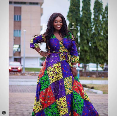 Latest Ankara long gown styles for classy ladies