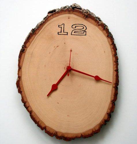 Free Craft Patterns : Craft Freebies: Crafts: Raw Wood Wall