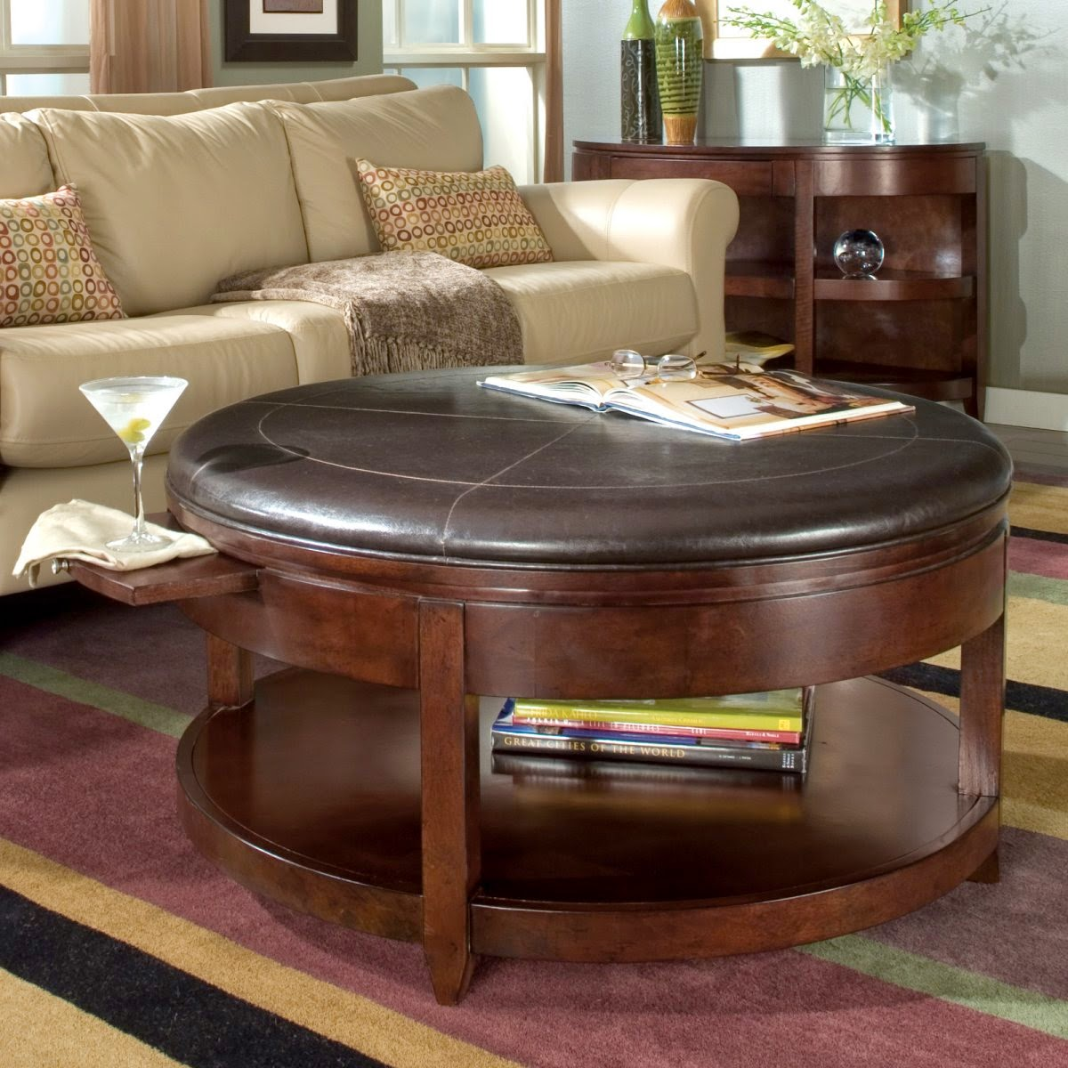 - Home Design Inspiration And Wedding Ideas: Upholstered Ottoman