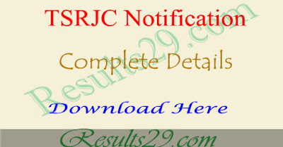 TSRJC Colleges List in Telangana, total seats details