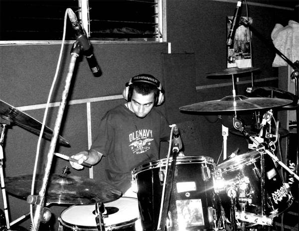 recording Apocalyptic Empire Album