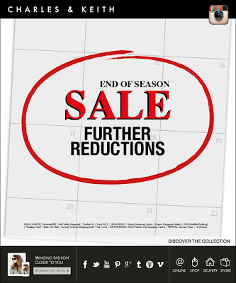 85b9b8a13af Charles and Keith Malaysia  Shoes   Bags End of Season Sale 2012