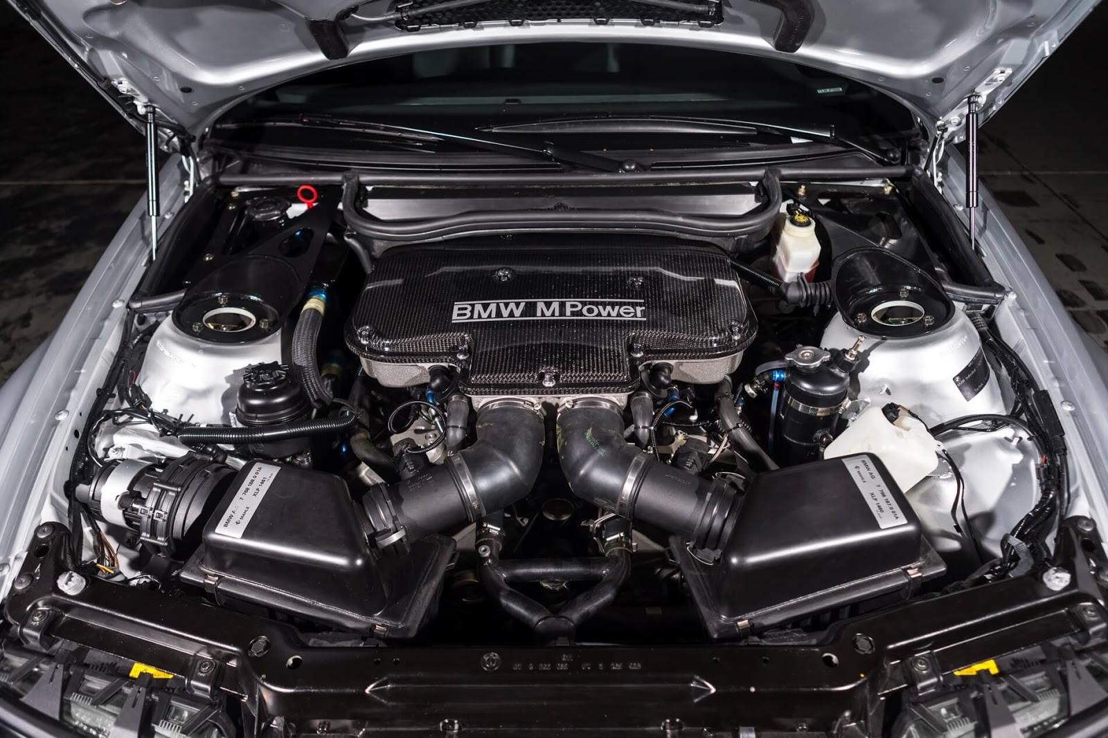 Mesin V8 P60 BMW E46 M3 GTR