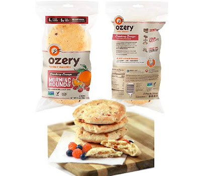 Ozery Cranberries - Toastable Cranberry Breakfast Buns - Grocery Snacks