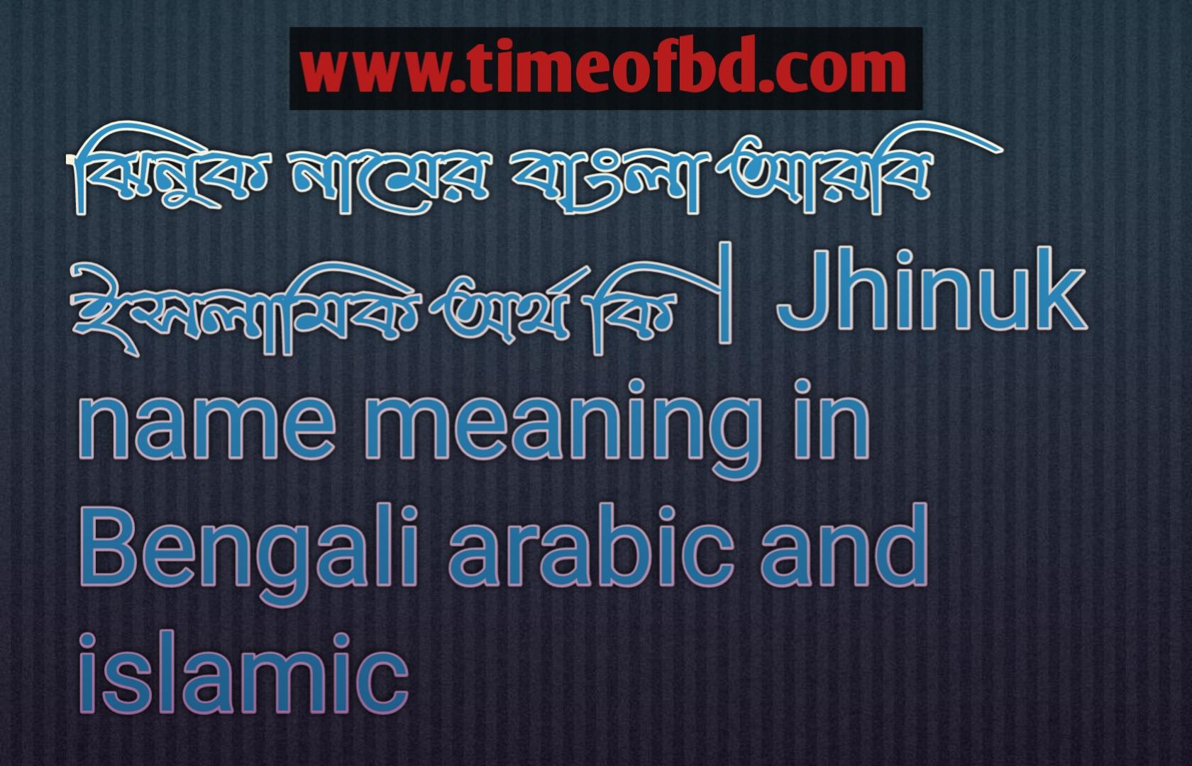 ঝিনুক নামের অর্থ কি, ঝিনুক নামের বাংলা অর্থ কি, ঝিনুক নামের ইসলামিক অর্থ কি, Jhinuk name meaning in Bengali, ঝিনুক কি ইসলামিক নাম,