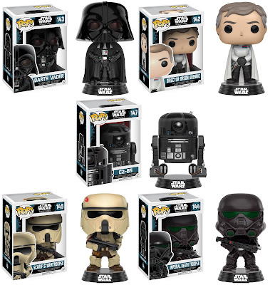 Star Wars: Rogue One Pop! Vinyl Figures by Funko
