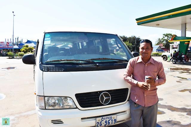Conductor de la furgoneta Siem Reap - Don Det