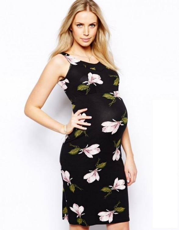 Evening Party Dresses for Pregnant Women