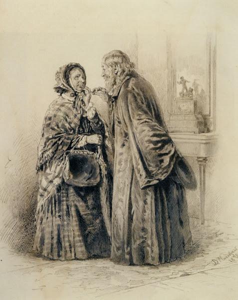 Маковский Владимир Егорович - Конфиденциальный разговор. 1878