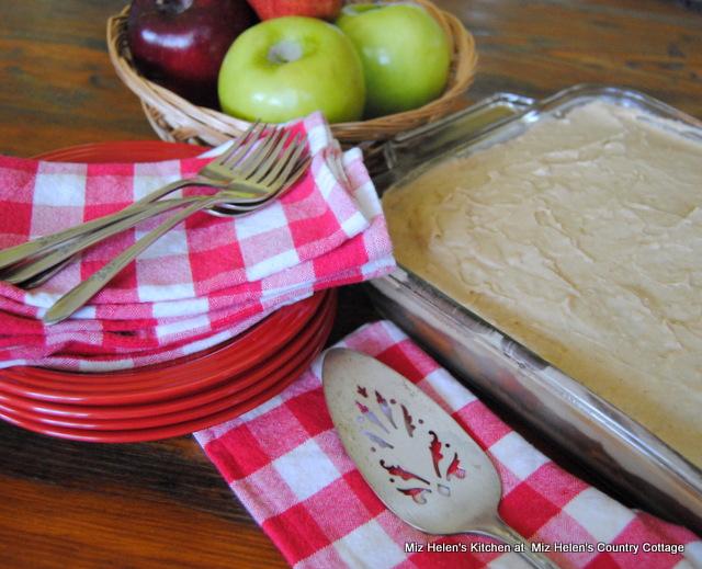Caramel Apple Poke Cake at Miz Helen's Country Cottage