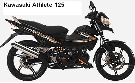 Kawasaki Athlete 125 Motorcycles Colors And Features Motorcycles