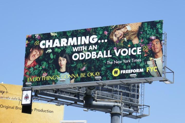 Everythings Gonna Be Okay 2020 Emmy FYC billboard