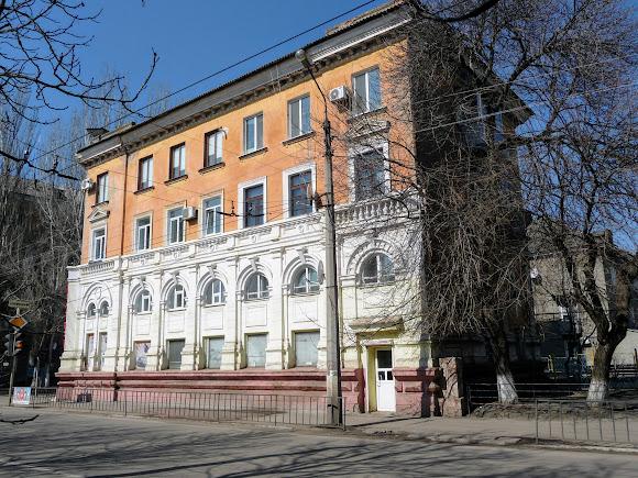 Славянск. Бывший городской банк