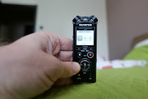 Olympus LS-P4 voice recorder