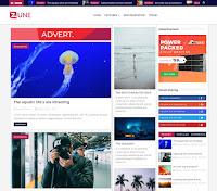 Download Premium Theme Blossomtheme Zune Blogger Blogspot Template Gratis Responsive | Seo Friendly | Keren