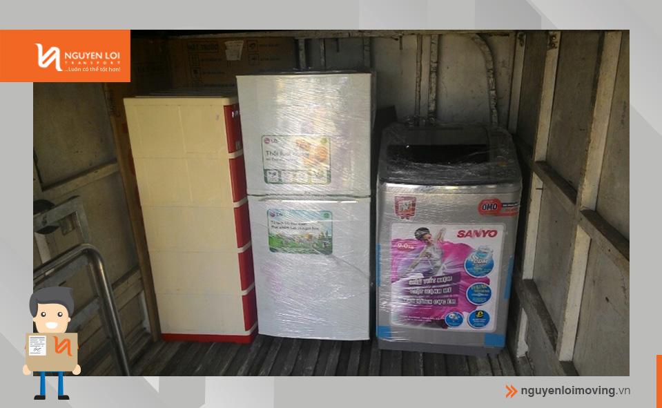 vận chuyển tủ lạnh