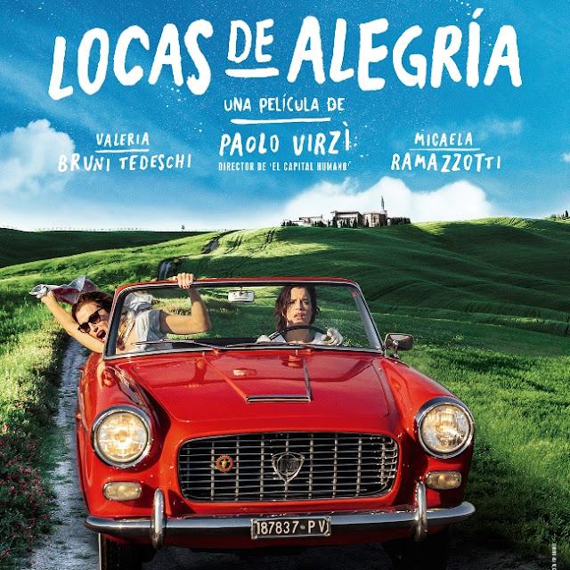 LOCAS DE LA ALEGRÍA - Paolo Virzì - portada